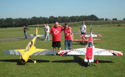 Onze kampioenen (links Peter Vanlanduyt en rechts Danny Zagers)